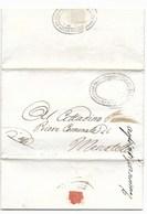 REPUBBLICA ROMANA - DA MERCATELLO PER CITTA' - 31.3.1849. - ...-1850 Voorfilatelie