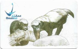 Oman - Chip - Animals - Ratel - 01.2005, 500.000ex, Used - Oman