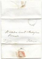 REPUBBLICA ROMANA - DA FABRIANO PER CITTA' - 17.5.1849. - ...-1850 Voorfilatelie