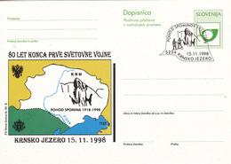Slovenia, Krnsko Jezero 5234, 80 Let Konca Prve Svetovne Vojne - Slovenia