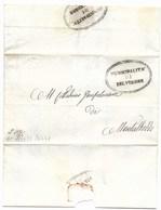 REPUBBLICA ROMANA - DA BELVEDERE A MONTALBODDO -20.4.1849. - Italia