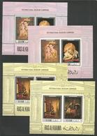 RAS AL KHAIMA - MNH - Art - Painting - International Museum Campaign - Perf. + Imperf. - Art