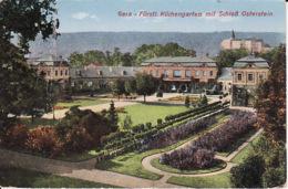 1-423 Furstl Küchengarten Mit Schloss Osterstein  (links Falten) - Altri