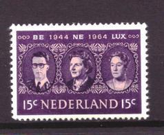 Nederland - Niederlande - Pays Bas NVPH 829 MNH ** (1964) - Periodo 1949 - 1980 (Giuliana)