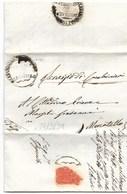 REPUBBLICA ROMANA - DA MERCATELLO PER CITTA' - 28.3.1849. - ...-1850 Voorfilatelie