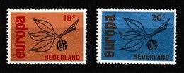 Nederland - Niederlande - Pays Bas NVPH 847 & 848 MNH ** (1965) - Periodo 1949 - 1980 (Giuliana)