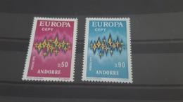 LOT 485647 TIMBRE DE ANDORRE NEUF** LUXE N°217/218 VALEUR 41 EUROS - Collections