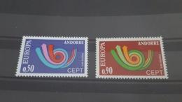 LOT 485648 TIMBRE DE ANDORRE NEUF** LUXE N°226/227 VALEUR 40 EUROS - Collections