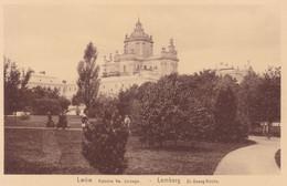 Lwów (Lemberg, Lwiw) * Katedra Sw. Jerzego, St. Georges Kirche, Park * Ukraine * AK1168 - Ukraine