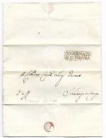 REPUBBLICA ROMANA - DA PERGOLA PER SAN LORENZO IN CAMPO - 18.5.1849. - ...-1850 Voorfilatelie