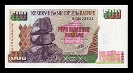 Zimbabwe 500 Dollars 2004 Pick 11b SC UNC - Simbabwe