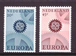 Nederland - Niederlande - Pays Bas NVPH 884 & 885 MNH ** (1967) - Nuevos