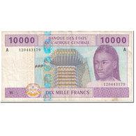 Billet, États De L'Afrique Centrale, 10,000 Francs, 2002, Undated (2002) - États D'Afrique Centrale