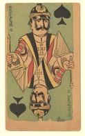 A1411[Postkaart] Guillaume II [Wilhelm Jeu De Cartes Des Souverains Duitsland Keizer Kaiser Speelkaart Karikatuur] - Hommes Politiques & Militaires