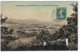 Vosges - Vue Générale De St-Etienne Et De Remiremont - Saint Etienne De Remiremont