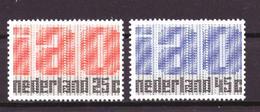 Nederland - Niederlande - Pays Bas NVPH 918 & 919 MNH ** (1969) - Nuevos