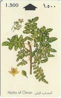 Oman - Herbs Of Oman - Frankincense - 29OMNC - 1995, 900.000ex, Used - Oman