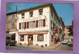 69 LIMONEST L'Hôtel De La Place Café Bar Tabac  Pub Kronenbourg  Vendue En L'état Plis Et Scotch Dans Les Coins - Limonest
