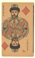 A1413[Postkaart] Nicolas II [Nicolaas Jeu De Cartes Des Souverains Rusland Tsaar Keizer Speelkaart Karikatuur] - Hommes Politiques & Militaires