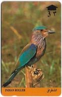 Oman - Birds -  Indian Roller - 8OMNA - 1991, 495.200ex, Used - Oman
