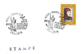 ITALIA - 1975 PARMA 30° Anniv. Liberazione (statua Repubblica) - Seconda Guerra Mondiale
