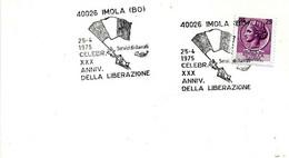 ITALIA - 1975 IMOLA (BO) XXX Anniv. Liberazione (bandiera) - Seconda Guerra Mondiale