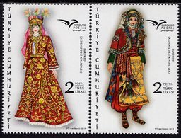 Turkey - 2019 - Euromed - Costumes Of The Mediterranean - Mint Stamp Set - 1921-... Republik
