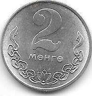 *mongolia 2 Mongo 1981 Km 28  Unc/ms63 - Mongolia