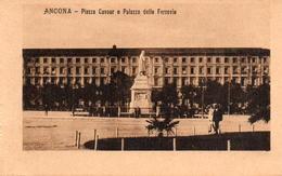 CPA Italie Marche Ancona Panorama Dal Mare - Ancona