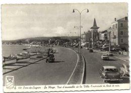 Cros-de-Cagnes - Sa Plage - Vue D'ensemble De La Ville L'autoroute Du Bord De Mer - Cagnes-sur-Mer