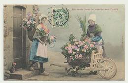 En Route Pour Le Marché Aux Fleurs - Edition Bergeret - Bergeret