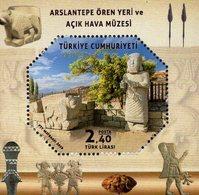 Turkey - 2019 - Arslantepe Archaeological Site And Open-Air Museum - Mint Souvenir Sheet - 1921-... Republik