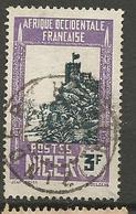 NIGER N° 49 CACHET  ZINDER - Niger (1921-1944)