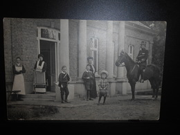 172-BEVERLOO-photo Carte Officier Cacavalier 3 Cie Du Train - **ENVOI GRATIS VERZENDING FREE SHIPPING** - Leopoldsburg (Beverloo Camp)