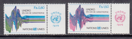 United Nation New York MNH Michel Nr 81/82 From 1979 / Catw 2.20 EUR - New York – UN Headquarters