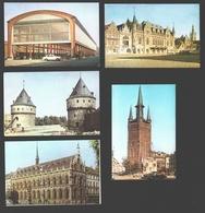 Kortrijk - 4 X VéGé Chromo Ca 10 X 7 Cm / Geen Postkaarten - Kortrijk