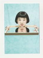MONTPELLIER Carte Postale Publicitaire DOMAINE DE GRAMMONT HUMAIN TROP HUMAIN IZUMI MIYAZAKI - Expositions
