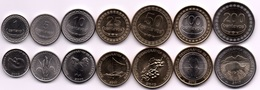 Timor - Set 7 Coins 1 5 10 25 50 100 200 Centavos 2003 - 2017 UNC Lemberg-Zp - Timor