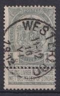 "105-  COB/OBP 53 (o)   ""Westerloo"" +4 - 1893-1900 Schmaler Bart"