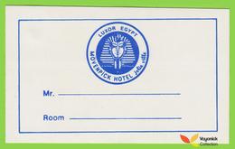 Voyo  HOTEL MÖVENPICK Luxor Egypt Hotel Label Sticker - Etiquettes D'hotels