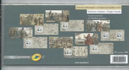 EMISSION COMMUNE  FRANCE  CANADA  NEUF - Foglietti Commemorativi