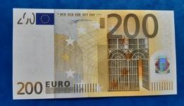 AUSTRIA 200 Euro 2002 Duisenberg  Letter N UNC Print Code G001 F3 N00841292481 - EURO