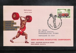 India 1985 National Weightlifting Championship Interesting Cover - Haltérophilie