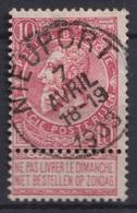 """110-  COB/OBP 58 (o)   """"Nieuport"""" +2 - 1893-1900 Schmaler Bart"""