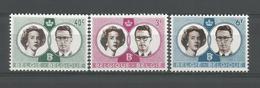Belgium 1960 Royal Wedding  OCB 1169/1171 ** - Belgique