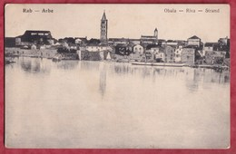 RAB - ARBE - Obala - Riva - Strand. Croatia A212/24 - Croatia