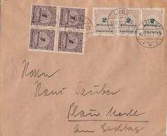 DR Brief Mif Minr.4x 325A3x 326B Lübz 14.11.23 - Deutschland