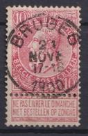 """116-  COB/OBP 58 (o)   """"Bruges"""" +1 - 1893-1900 Schmaler Bart"""