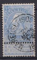 "122-  COB/OBP 60 (o)   ""Maredret(Sosoye)"" +4 - 1893-1900 Schmaler Bart"