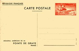 MEMORAIL DE LA POINTE DE GRAVE DEPART DE LA FAYETTE Bateau Guerre 14 Guerre D'indépendance Américaine - Biglietto Postale